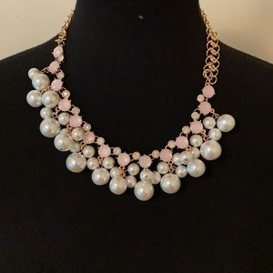 CHATHERINE STEIN Faux Pearl & Bead Necklace